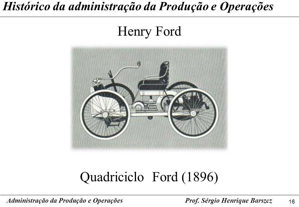 Henry Ford Quadriciclo Ford (1896)