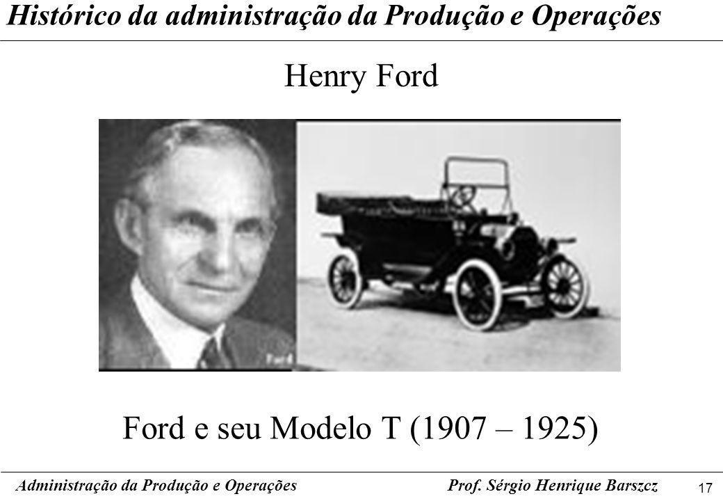 Henry Ford Ford e seu Modelo T (1907 – 1925)