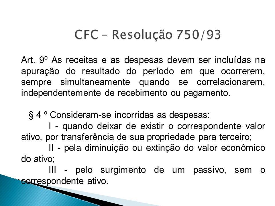 CFC – Resolução 750/93
