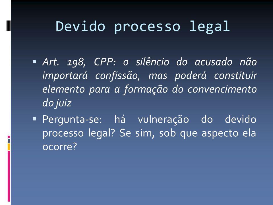 Devido processo legal