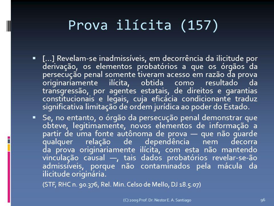 Prova ilícita (157)