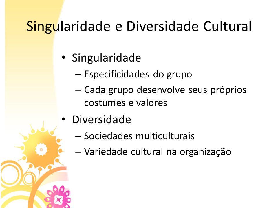 Singularidade e Diversidade Cultural