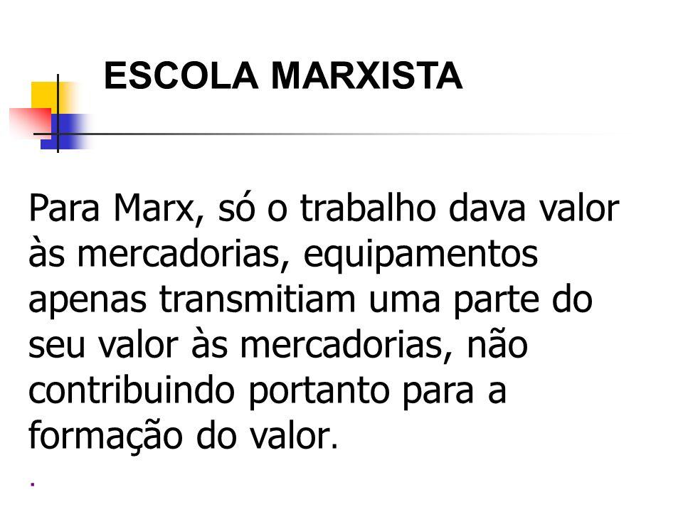 ESCOLA MARXISTA