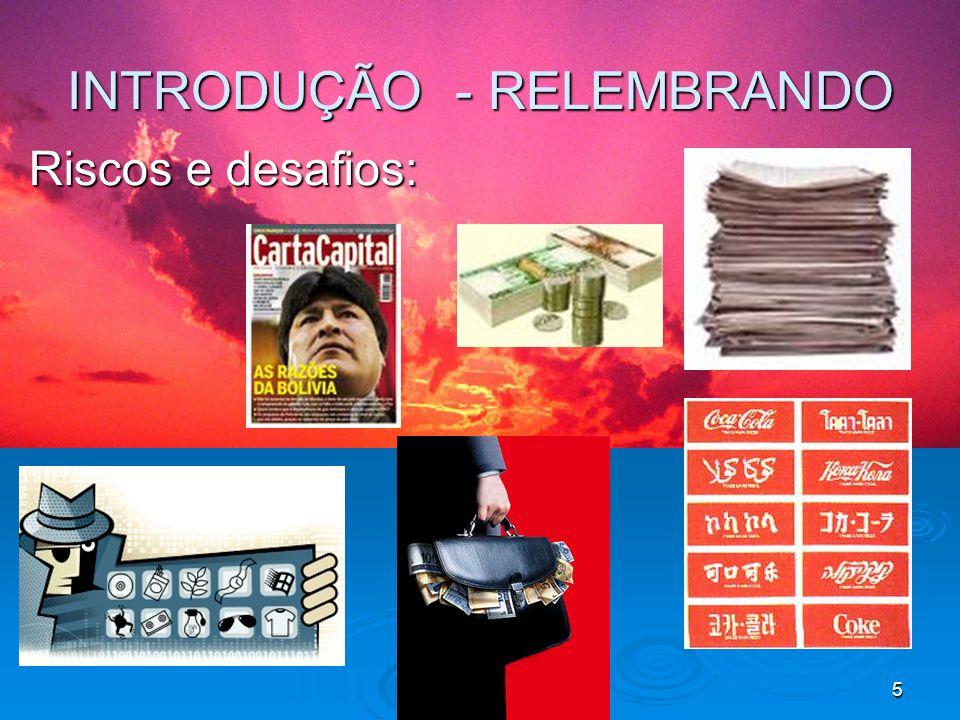 INTRODUÇÃO - RELEMBRANDO