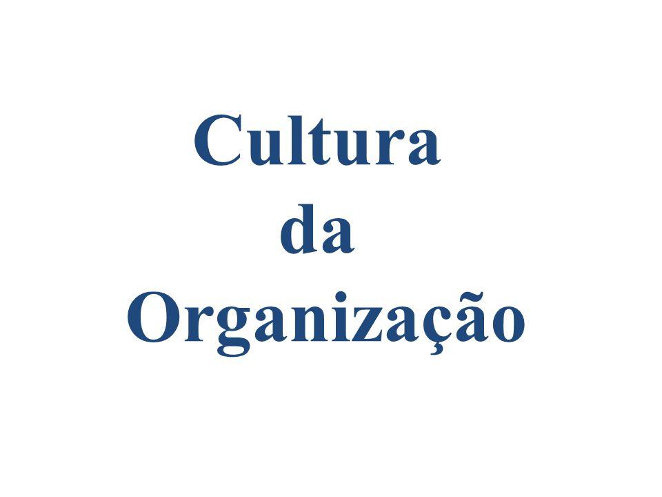 Cultura da Organização