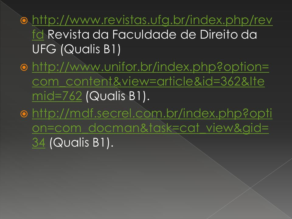http://www. revistas. ufg. br/index