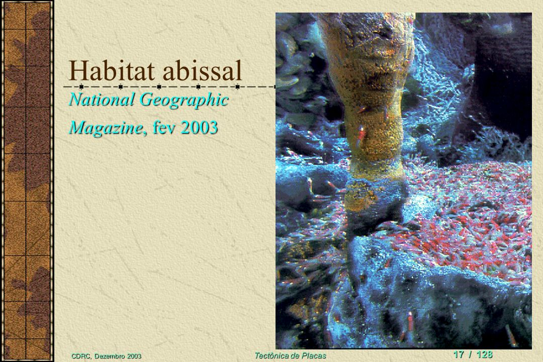 Habitat abissal National Geographic Magazine, fev 2003