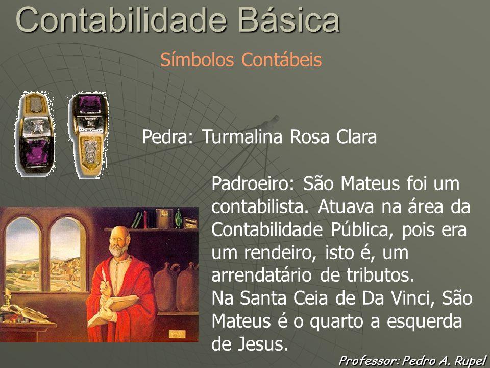 Professor: Pedro A. Rupel