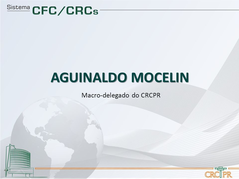 Macro-delegado do CRCPR