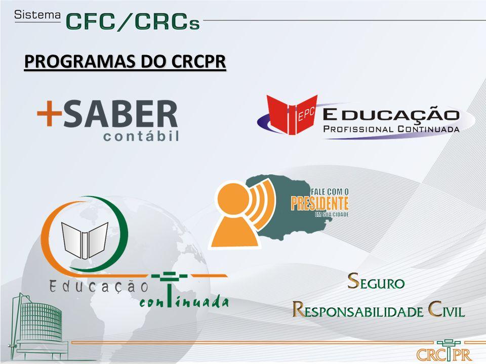 PROGRAMAS DO CRCPR