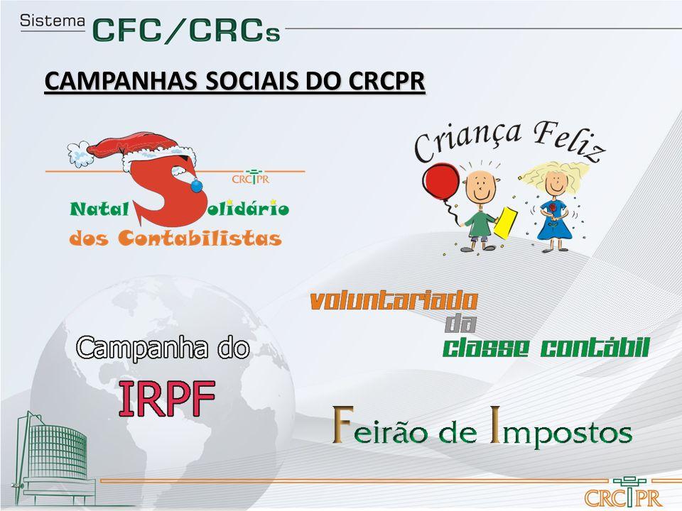 CAMPANHAS SOCIAIS DO CRCPR
