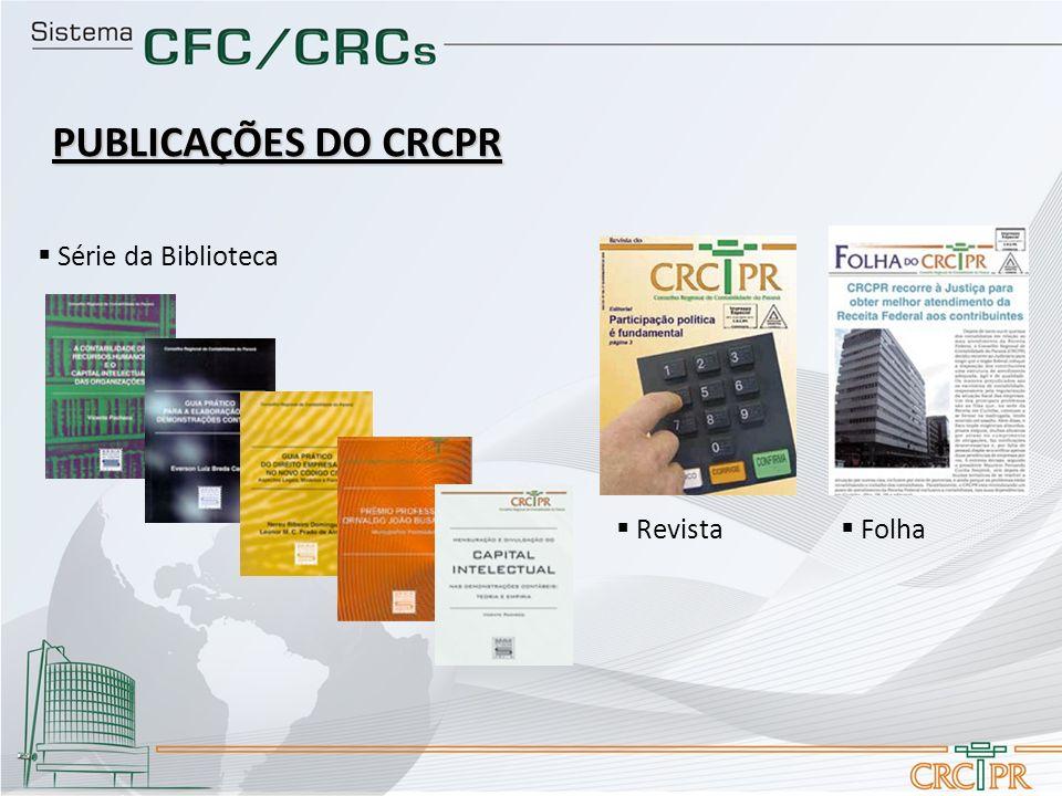 PUBLICAÇÕES DO CRCPR Folha Série da Biblioteca Revista
