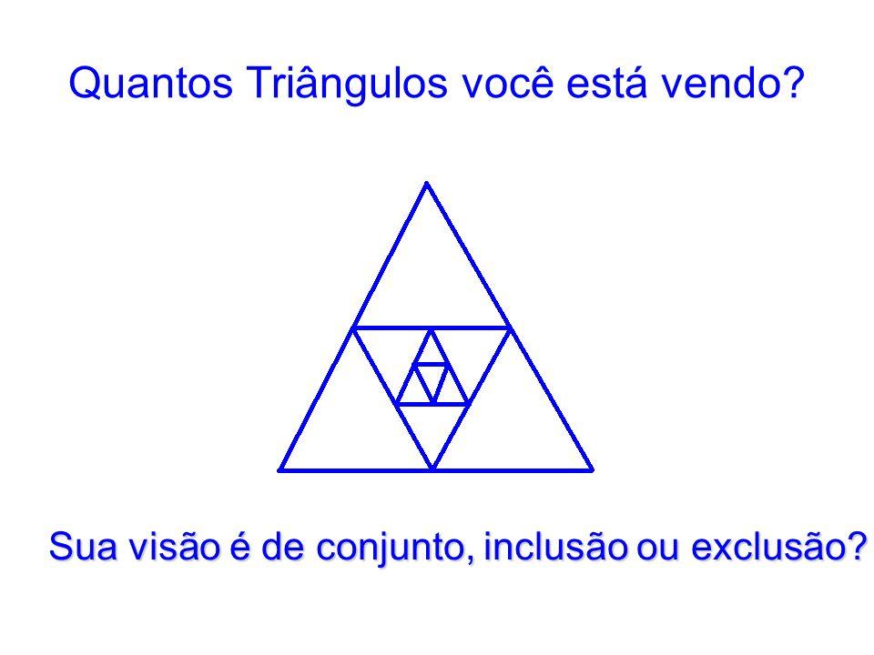 Quantos Triângulos você está vendo