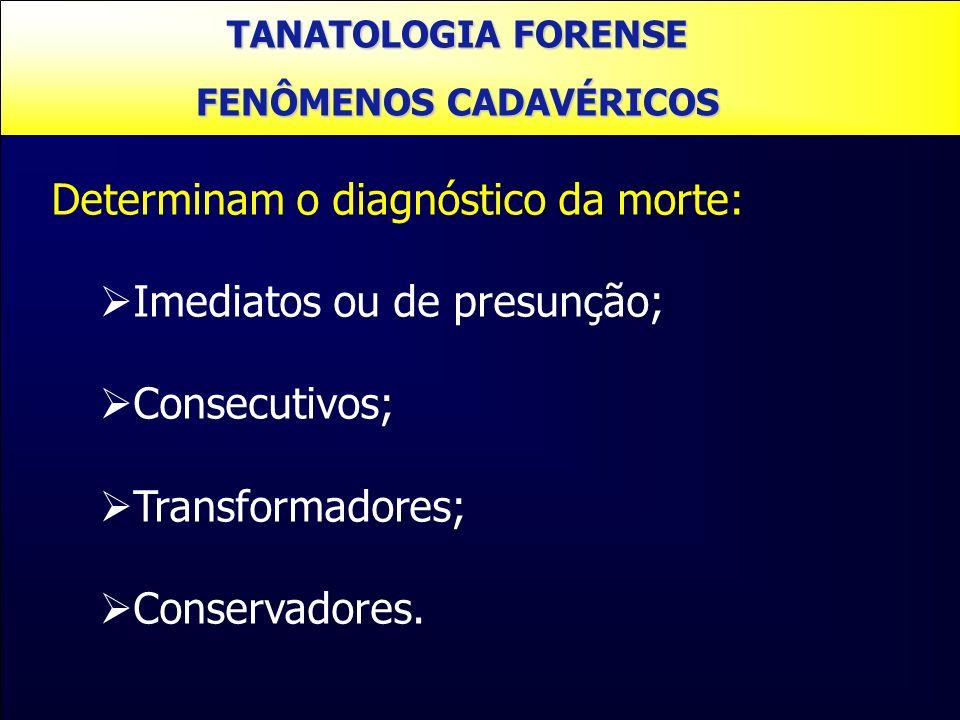 FENÔMENOS CADAVÉRICOS