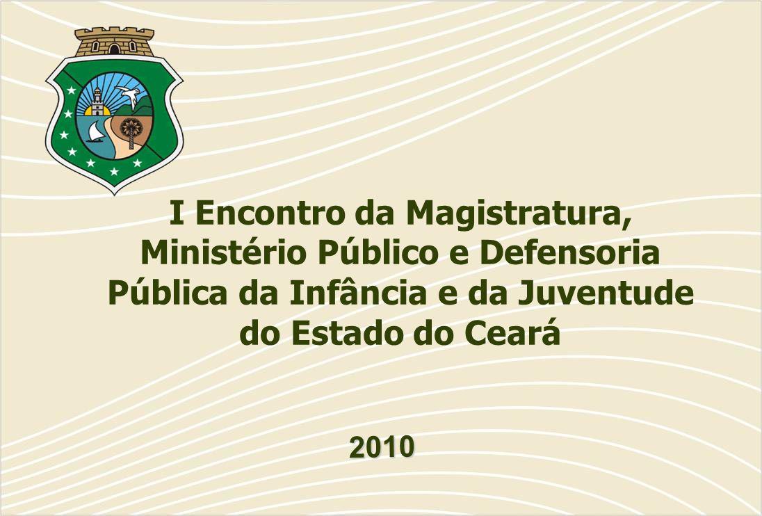 I Encontro da Magistratura, Ministério Público e Defensoria Pública da Infância e da Juventude do Estado do Ceará