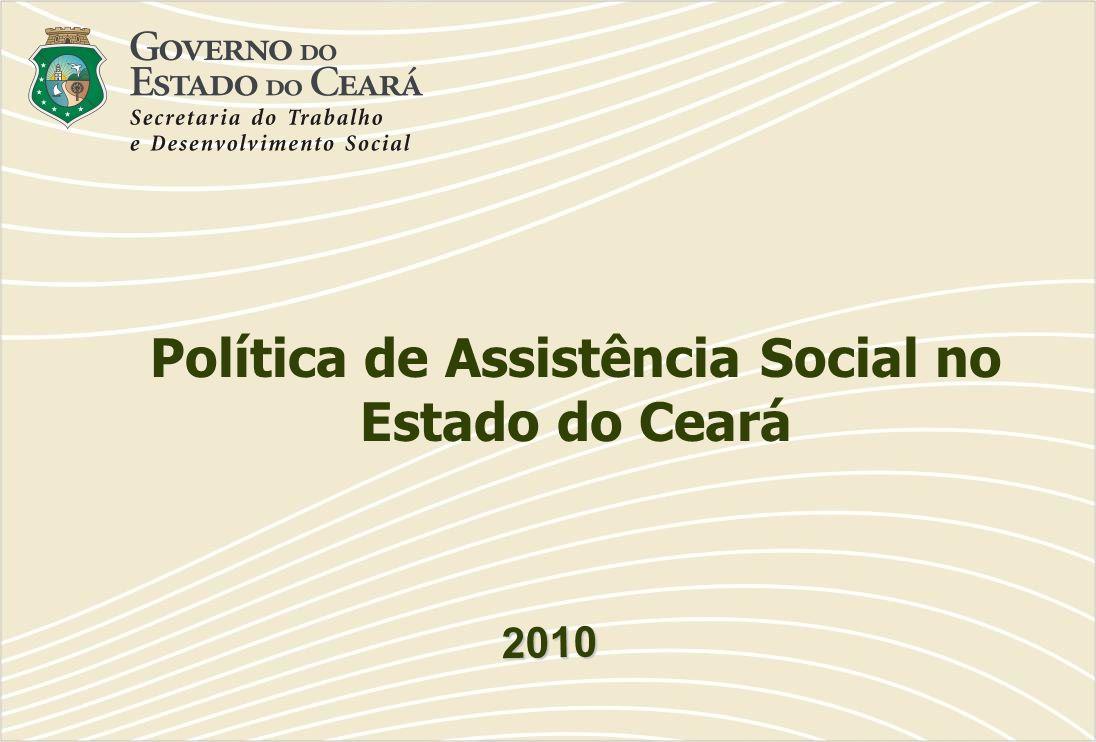 Política de Assistência Social no Estado do Ceará
