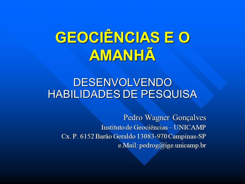 DESENVOLVENDO HABILIDADES DE PESQUISA