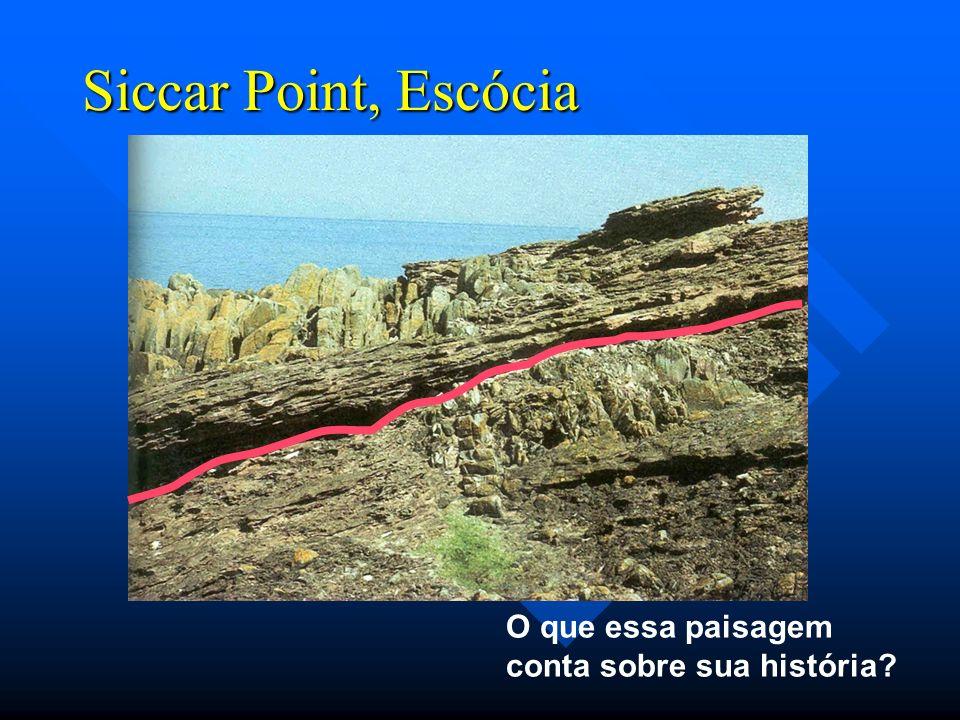 Siccar Point, Escócia O que essa paisagem conta sobre sua história