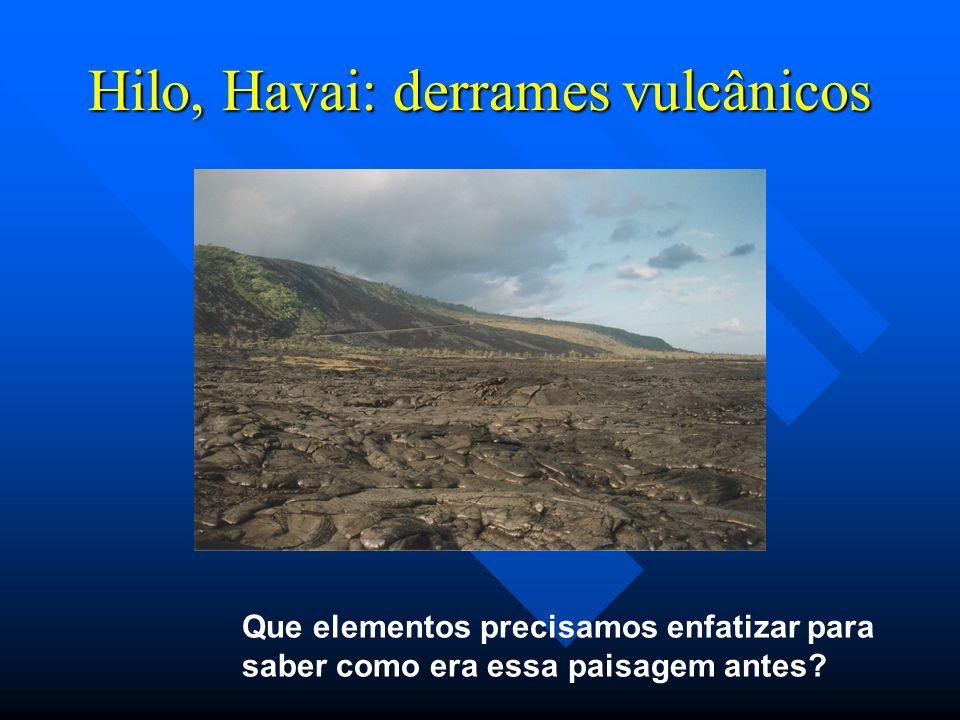 Hilo, Havai: derrames vulcânicos