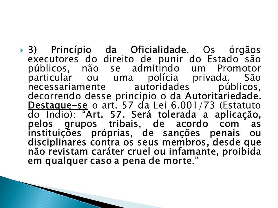 3) Princípio da Oficialidade
