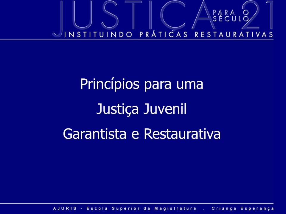 Garantista e Restaurativa