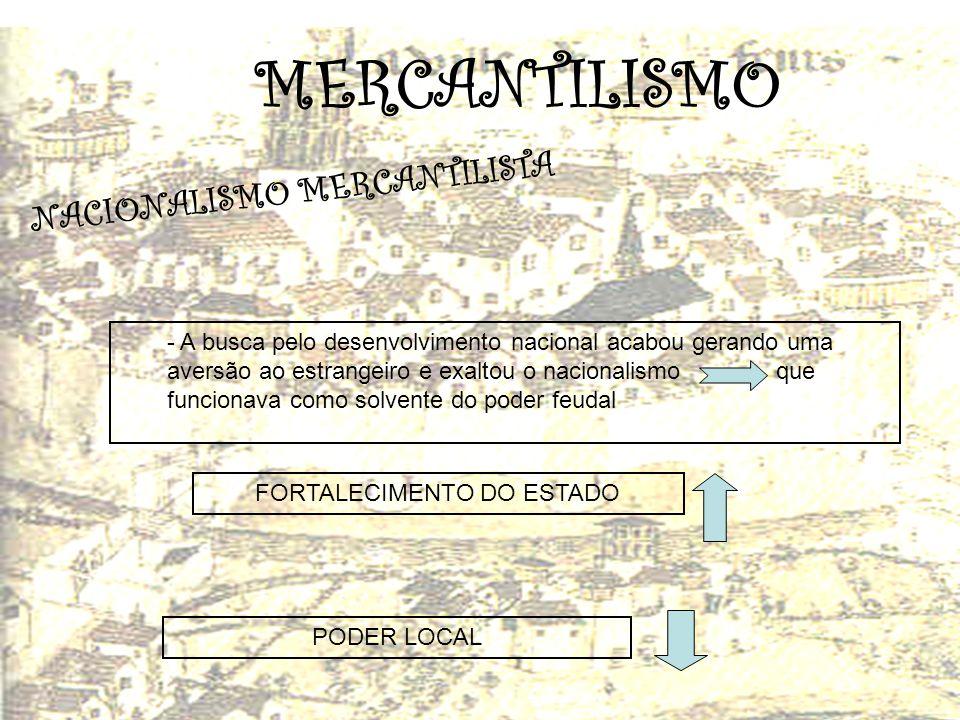 FORTALECIMENTO DO ESTADO