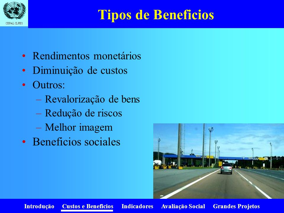 Tipos de Beneficios Beneficios sociales Rendimentos monetários