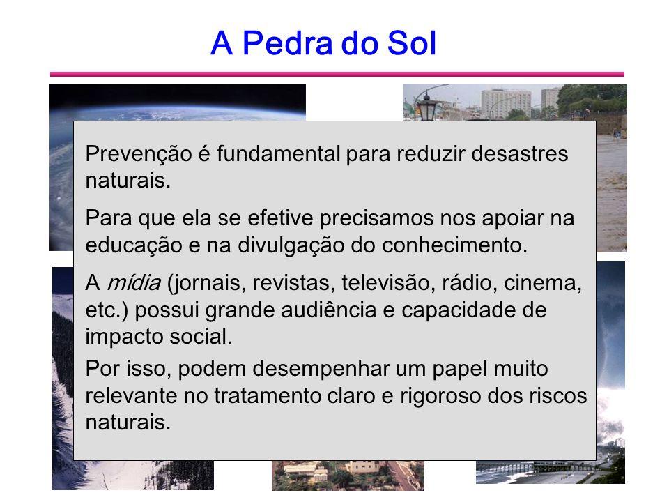 A Pedra do Sol Prevenção é fundamental para reduzir desastres naturais.