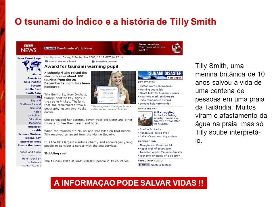 A INFORMAÇAO PODE SALVAR VIDAS !!