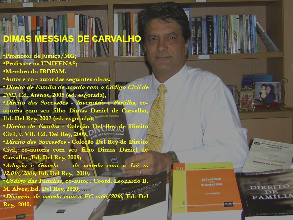 DIMAS MESSIAS DE CARVALHO