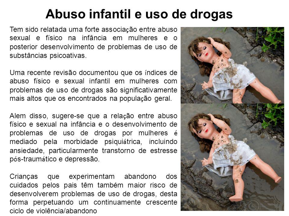 Abuso infantil e uso de drogas