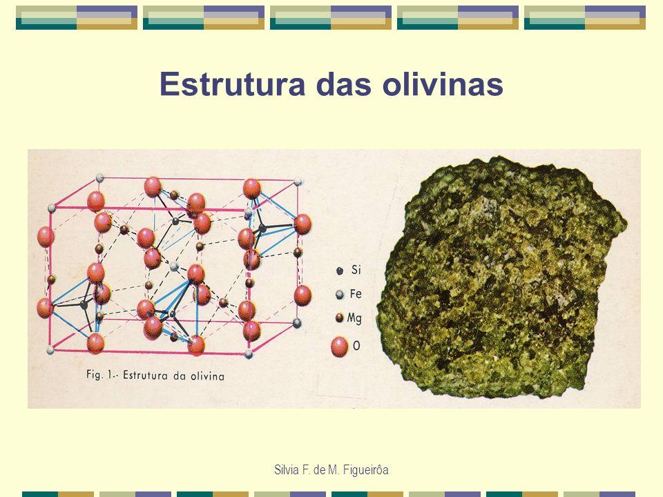 Estrutura das olivinas