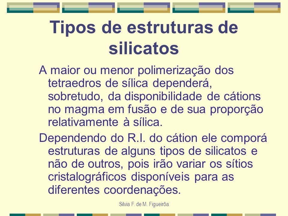 Tipos de estruturas de silicatos