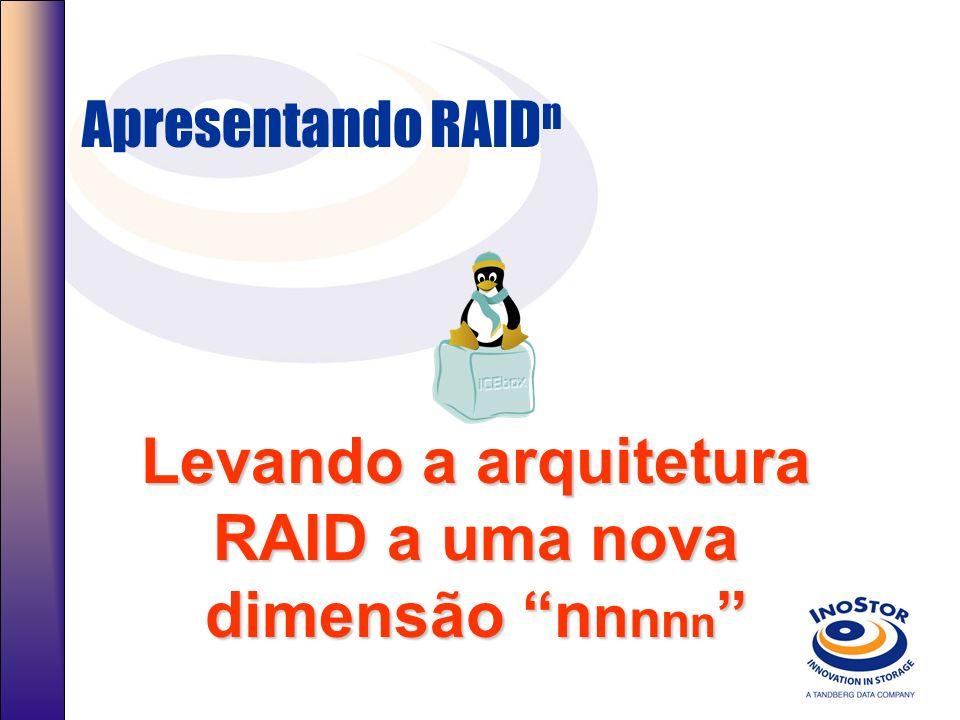 Levando a arquitetura RAID a uma nova dimensão nnnnn