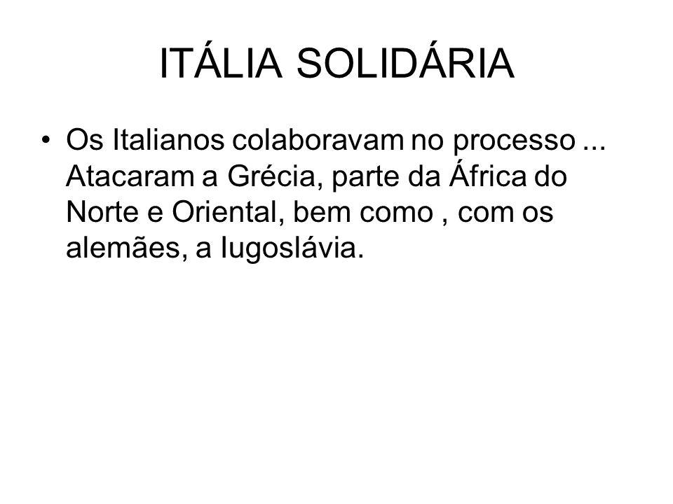 ITÁLIA SOLIDÁRIA