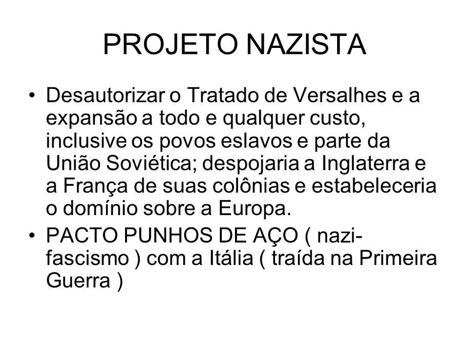 PROJETO NAZISTA
