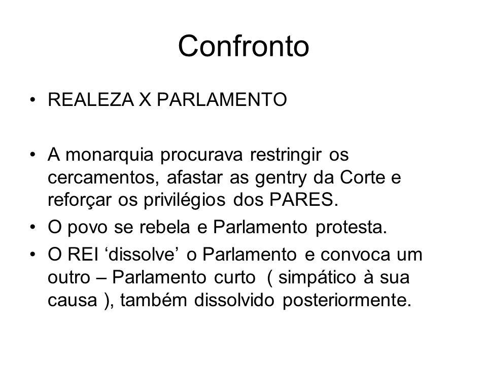 Confronto REALEZA X PARLAMENTO