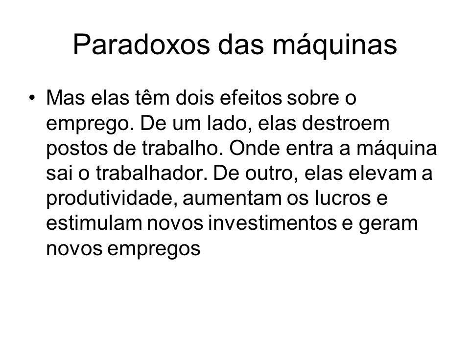 Paradoxos das máquinas