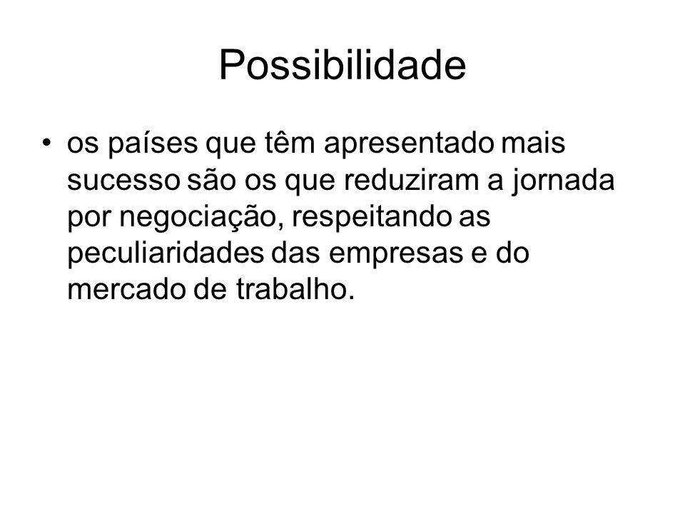 Possibilidade