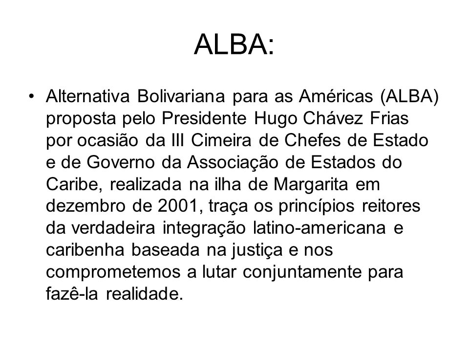 ALBA:
