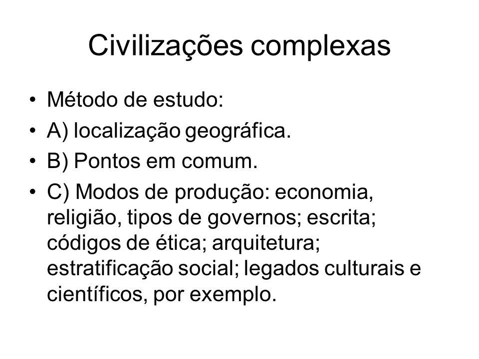 Civilizações complexas