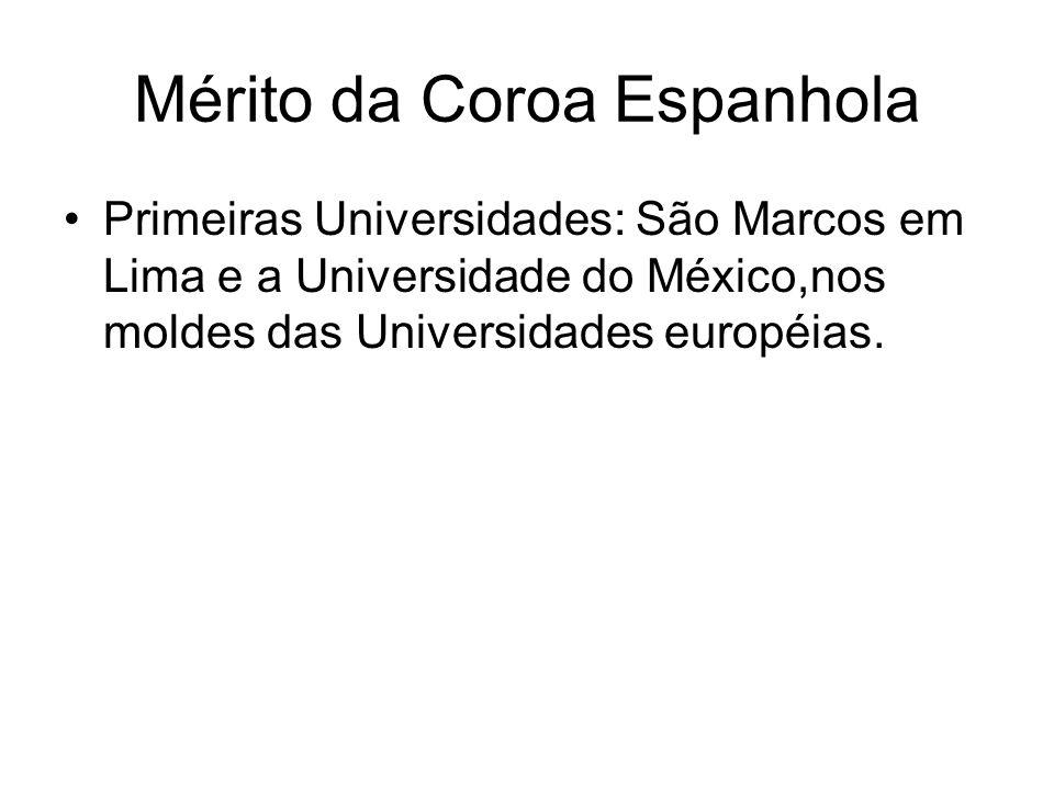 Mérito da Coroa Espanhola