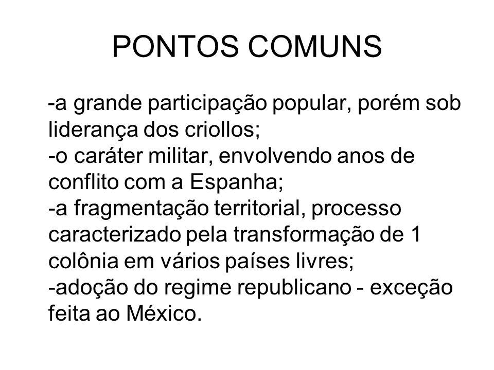 PONTOS COMUNS