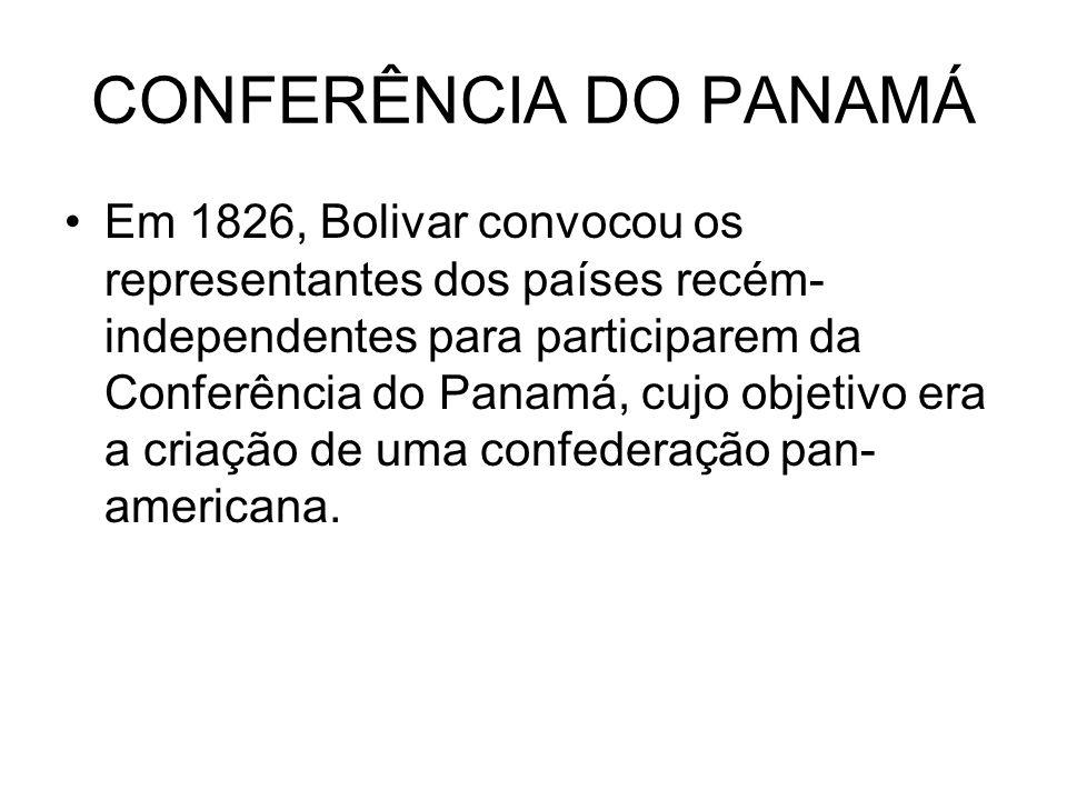 CONFERÊNCIA DO PANAMÁ