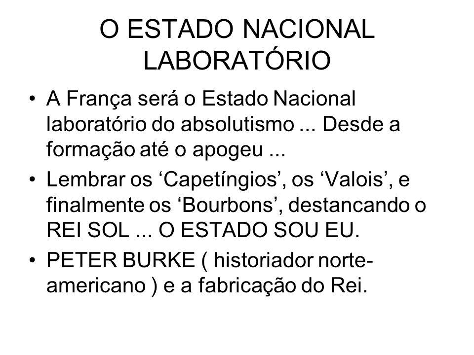 O ESTADO NACIONAL LABORATÓRIO