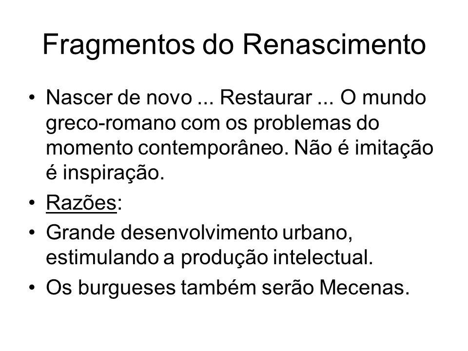 Fragmentos do Renascimento