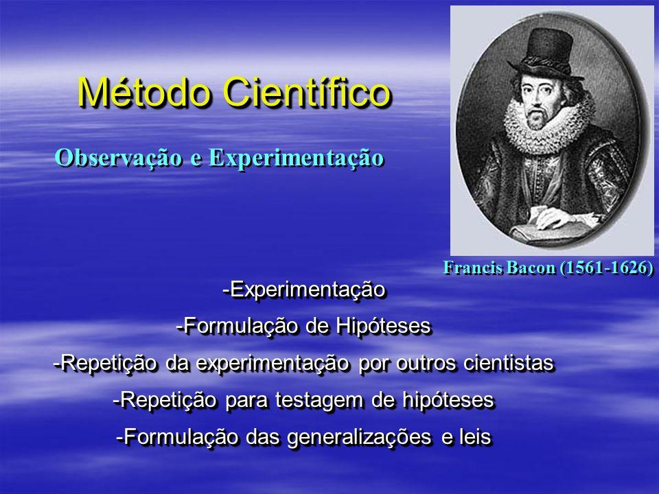 Observação e Experimentação