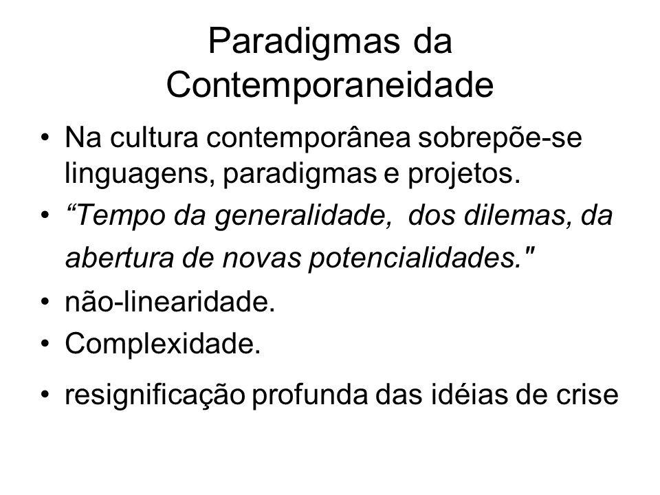 Paradigmas da Contemporaneidade