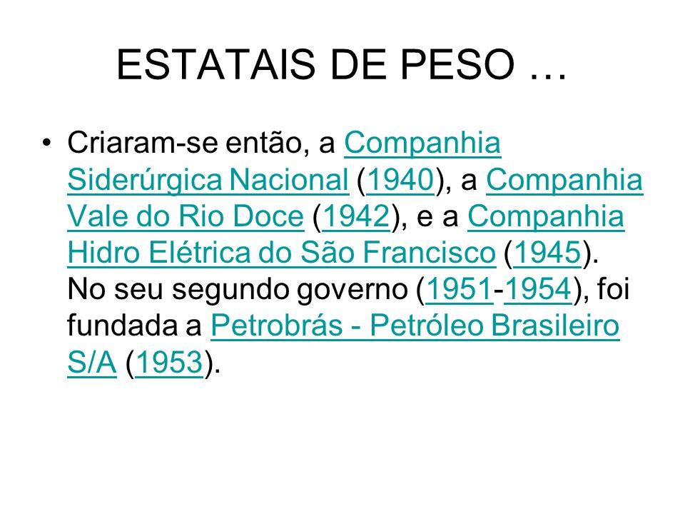 ESTATAIS DE PESO …