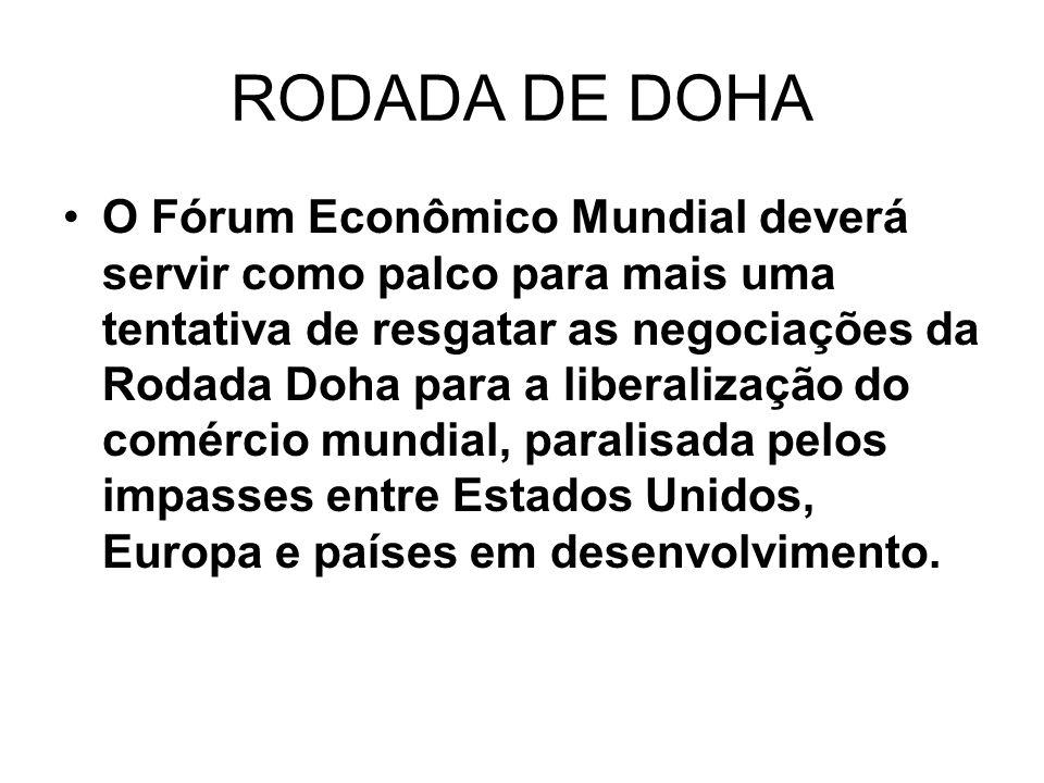 RODADA DE DOHA
